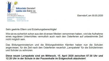 Lernpaket 30032020 elternbrief teil1