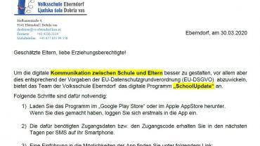 Schoolupdate 30032020 elternbrief teil1
